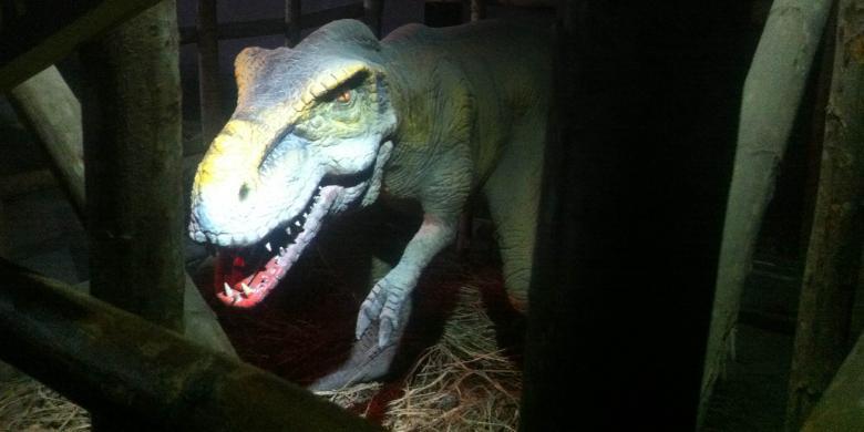 Menjelajah Dunia Dino di Jungleland1