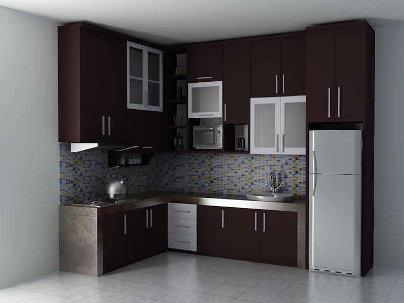 Design Kitchen Set Untuk Dapur Kecil desain kitchen set minimalis modern dengan tampilan eksotisnya