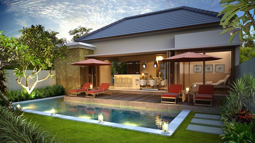 Desain Villa Minimalis