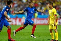 Dimitri Payet Selebrasi Gol Prancis ke 2