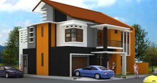 Contoh Desain Atap Rumah Minimalis Modern 1 dan 2 Lantai