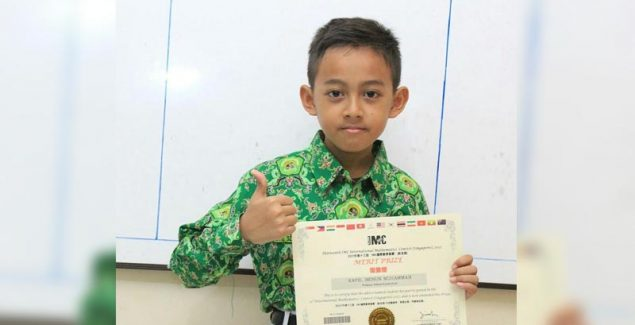 Siswa MI Lamongan Dapat Juara Harapan Olimpiade Matematika