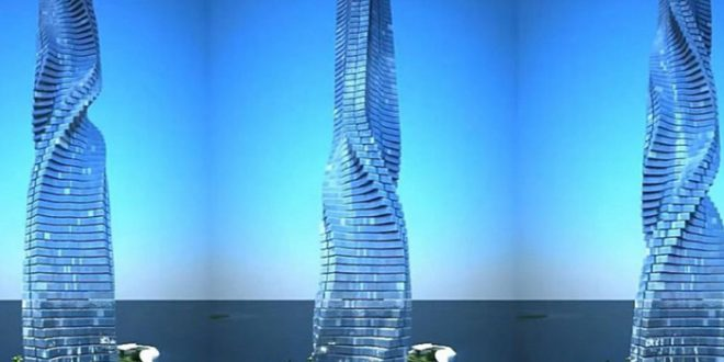 Dynamic Tower Gedung Pecakar Langit