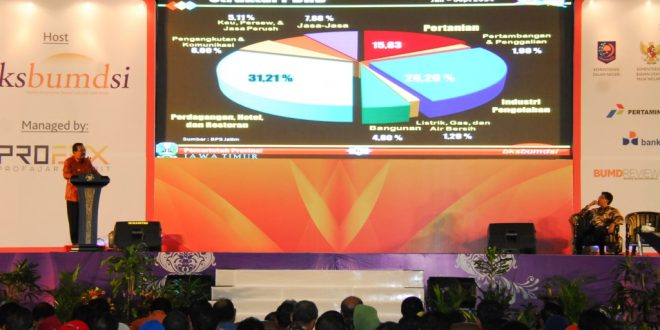 Gubernur Jatim paparan Kesiapan BUMD dalam menghadapi MEA 2015