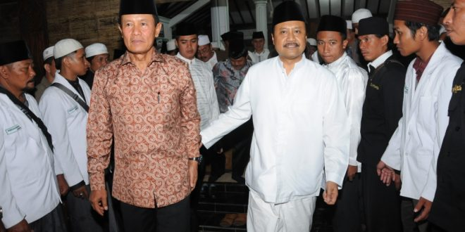 Gus Ipul Bersama Kapolri Jenderal Pol Drs. Sutarman Hadir di PP Walisongo Mimbaan Situbondo Dalam Rangka Maulid Nabi SAW