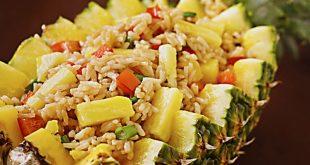 Membuat Nasi Goreng Nanas yang Gurih dan Segar