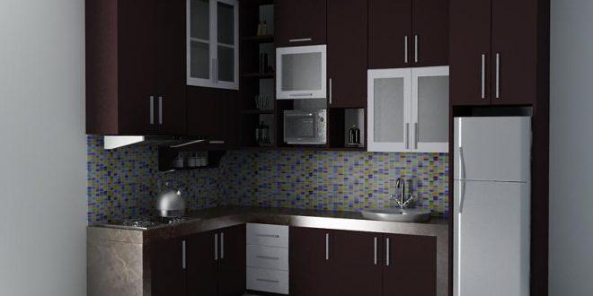 Desain Kitchen Set Minimalis Modern Dengan Tampilan Eksotisnya