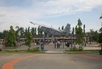 keindahan alun - alun kota lamongan