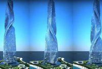 Dynamic Tower Gedung Pecakar Langit